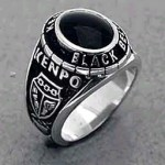 KBBR Kenpo Black Belt ring