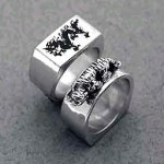 Dragon Tiger ring
