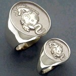 R1020/R1021 Dragon Styles ring