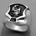 R1030 Kenpo Crest ring