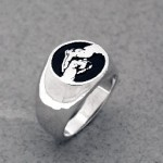 R268 Salute/Fist ring